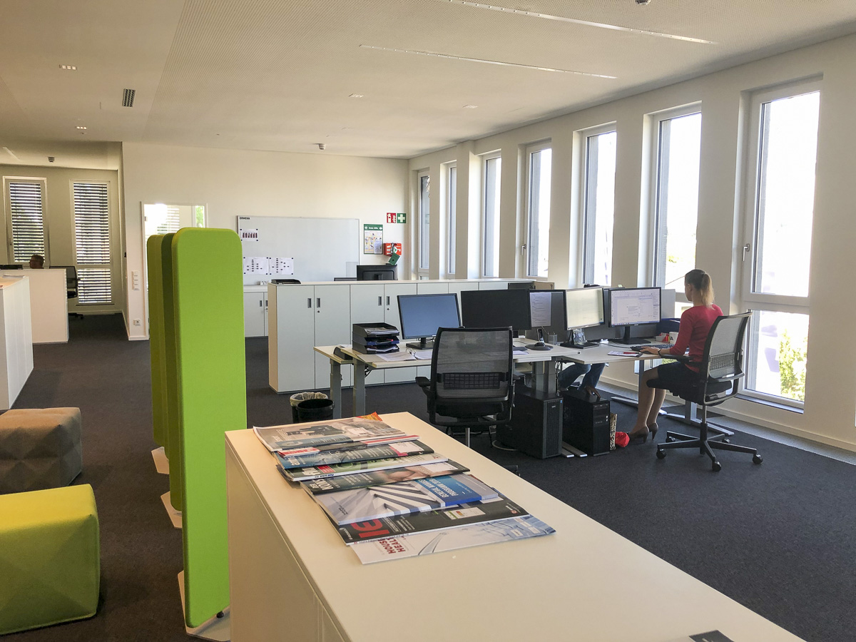 First floor offices in R&D