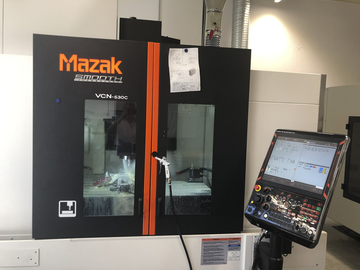 One of several new Mazak Vertical Excel Centers