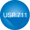 Improved compliance with USP 711