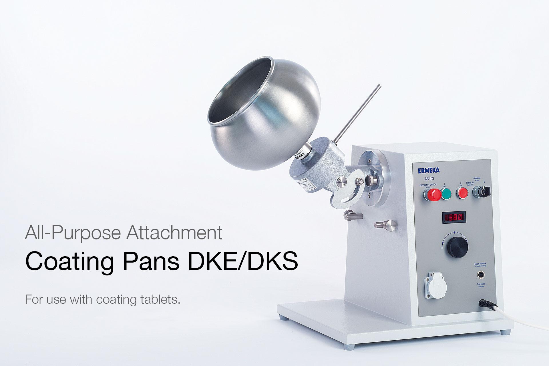 R D Coatings Coating Pans DKE/DKS -...