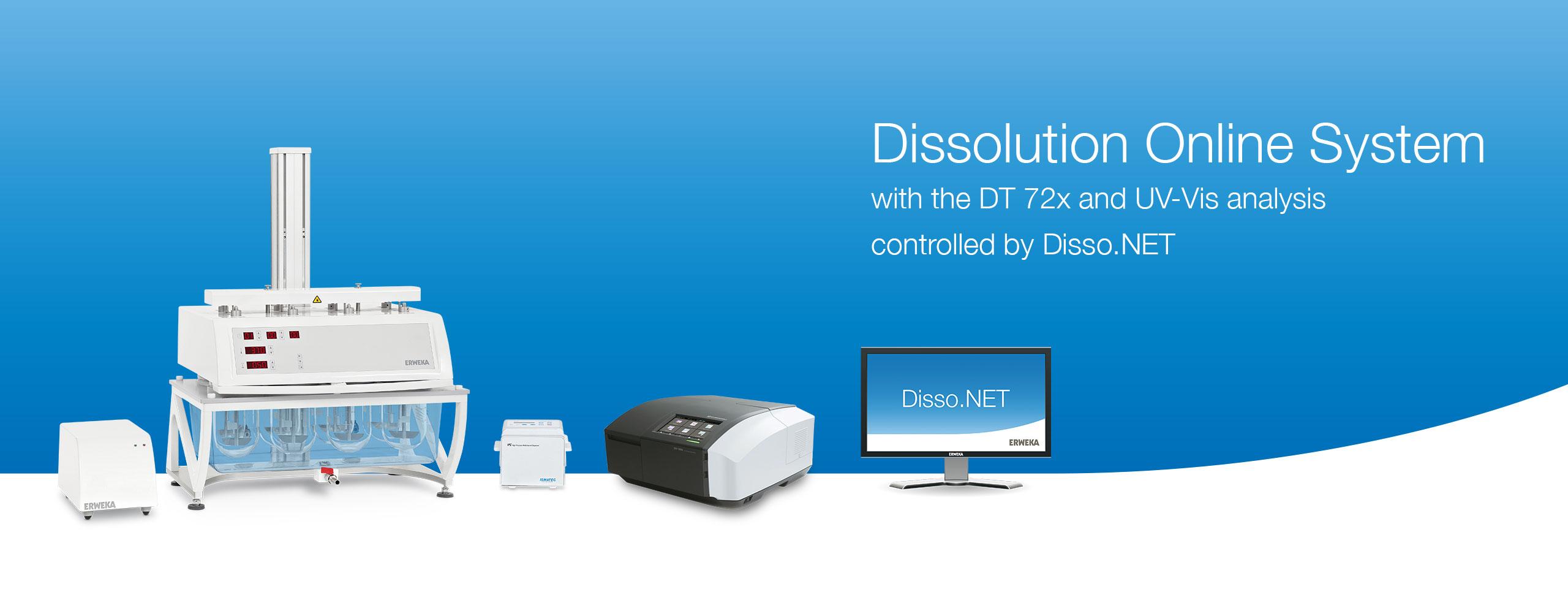 Dissolution Online System - ERWEKA GmbH