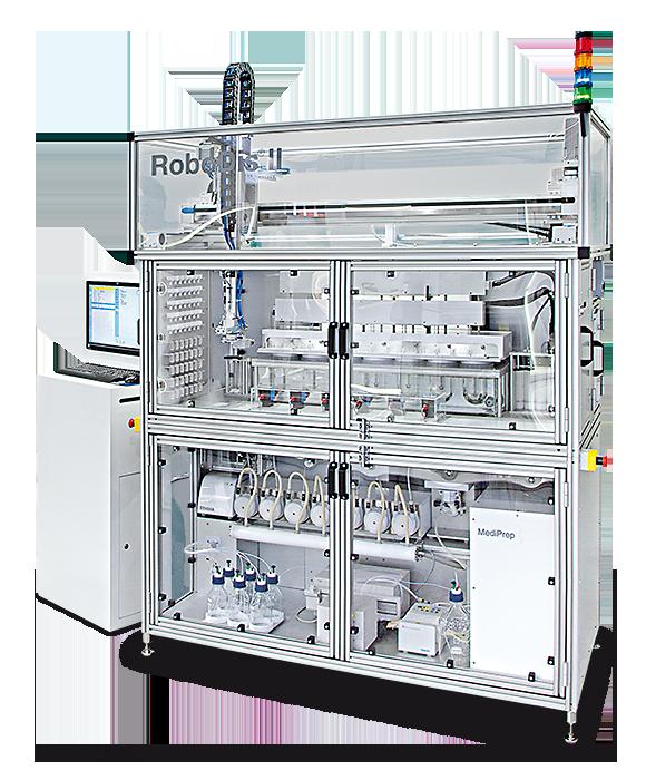 RoboDis II - Vollautomatisches Dissolution System