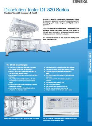 DT 820 Series Specsheet ENG